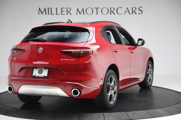 New 2020 Alfa Romeo Stelvio Sport Q4 for sale $50,645 at Bugatti of Greenwich in Greenwich CT 06830 7