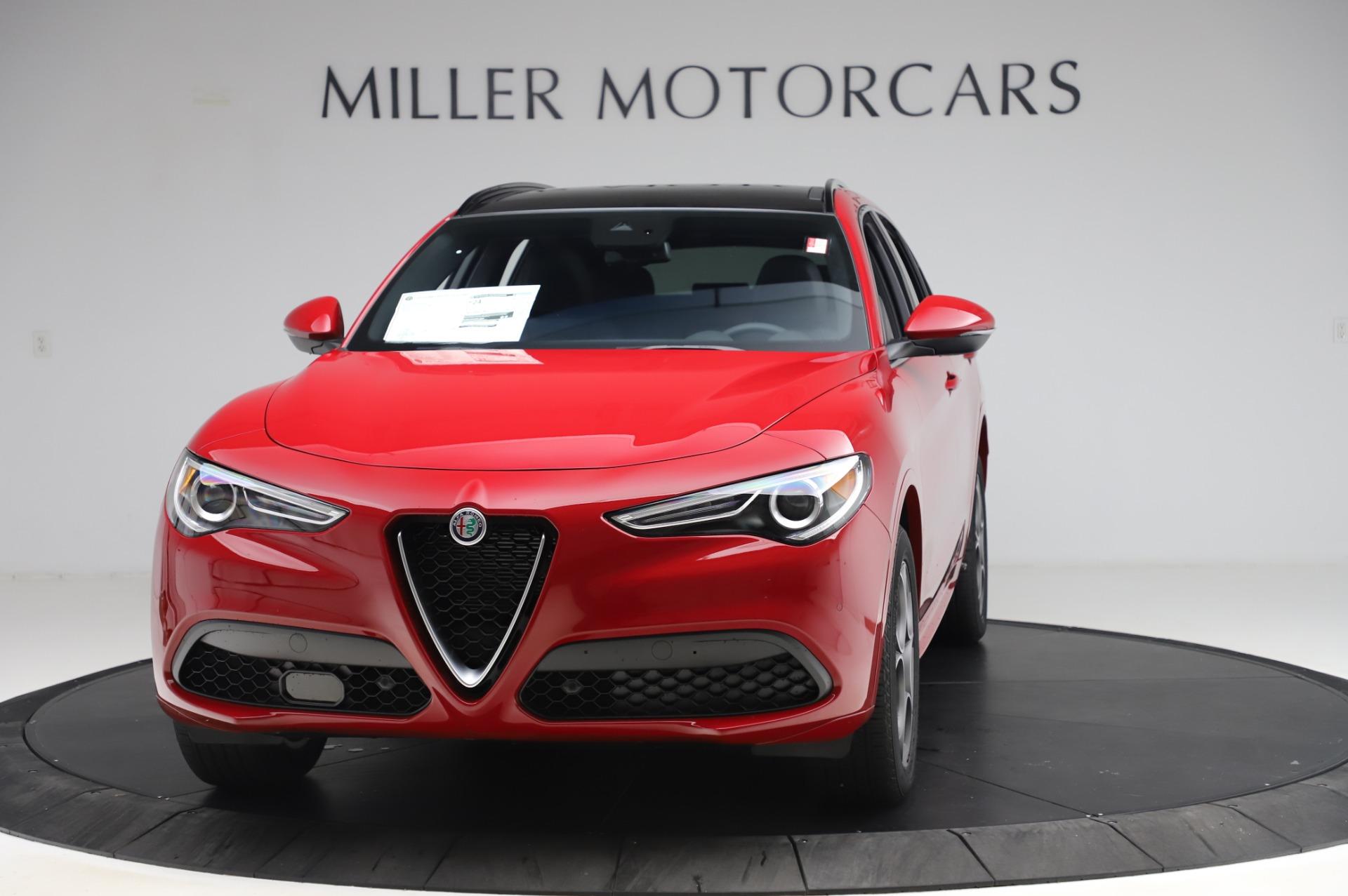 New 2020 Alfa Romeo Stelvio Sport Q4 for sale $50,645 at Bugatti of Greenwich in Greenwich CT 06830 1