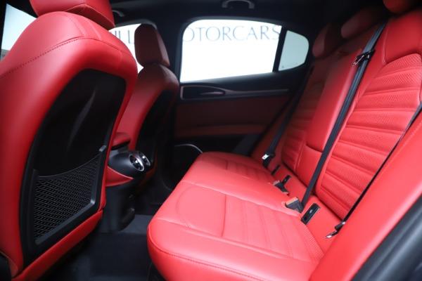 New 2020 Alfa Romeo Stelvio Ti Sport Q4 for sale $56,145 at Bugatti of Greenwich in Greenwich CT 06830 19