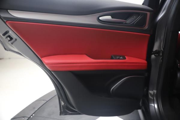 New 2020 Alfa Romeo Stelvio Ti Sport Q4 for sale $56,145 at Bugatti of Greenwich in Greenwich CT 06830 21