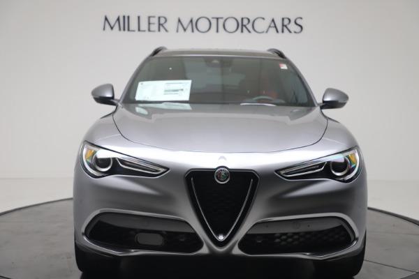 New 2020 Alfa Romeo Stelvio Ti Sport Q4 for sale $53,545 at Bugatti of Greenwich in Greenwich CT 06830 12