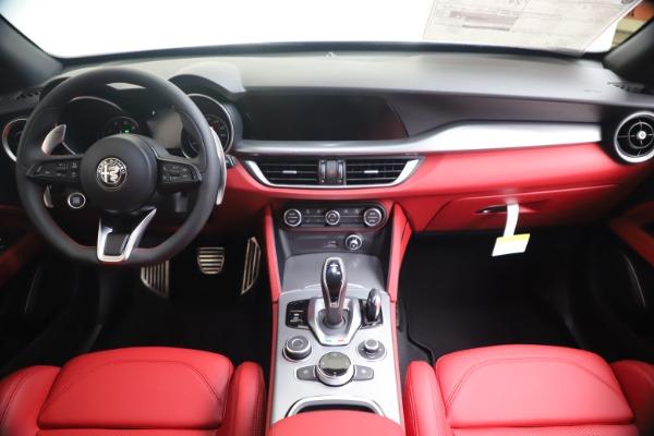 New 2020 Alfa Romeo Stelvio Ti Sport Q4 for sale $53,545 at Bugatti of Greenwich in Greenwich CT 06830 16