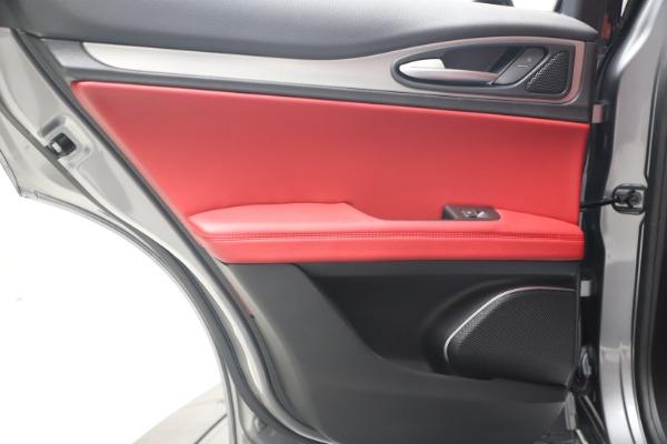 New 2020 Alfa Romeo Stelvio Ti Sport Q4 for sale $53,545 at Bugatti of Greenwich in Greenwich CT 06830 21