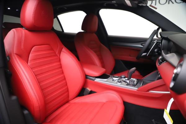 New 2020 Alfa Romeo Stelvio Ti Sport Q4 for sale $53,545 at Bugatti of Greenwich in Greenwich CT 06830 22