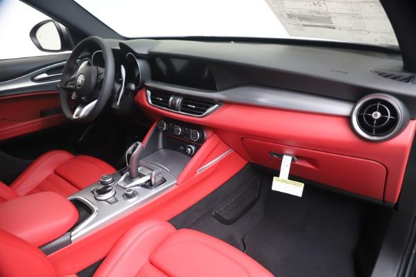 New 2020 Alfa Romeo Stelvio Ti Sport Q4 for sale $53,545 at Bugatti of Greenwich in Greenwich CT 06830 24