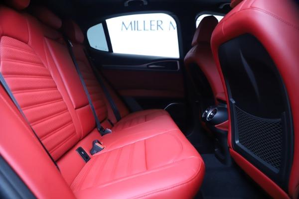 New 2020 Alfa Romeo Stelvio Ti Sport Q4 for sale $53,545 at Bugatti of Greenwich in Greenwich CT 06830 27