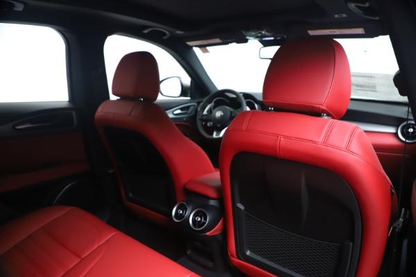 New 2020 Alfa Romeo Stelvio Ti Sport Q4 for sale $53,545 at Bugatti of Greenwich in Greenwich CT 06830 28
