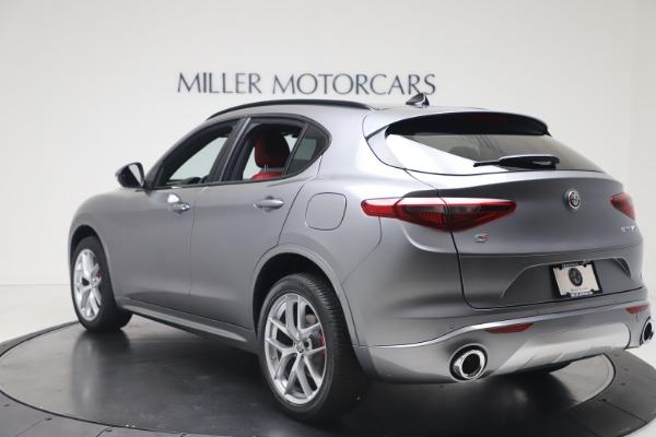 New 2020 Alfa Romeo Stelvio Ti Sport Q4 for sale $53,545 at Bugatti of Greenwich in Greenwich CT 06830 5