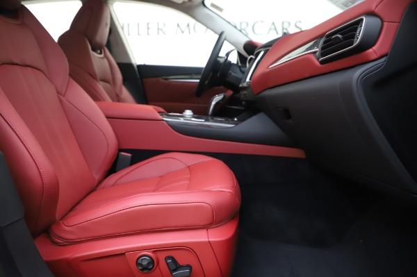 New 2020 Maserati Levante S Q4 GranSport for sale $104,635 at Bugatti of Greenwich in Greenwich CT 06830 23