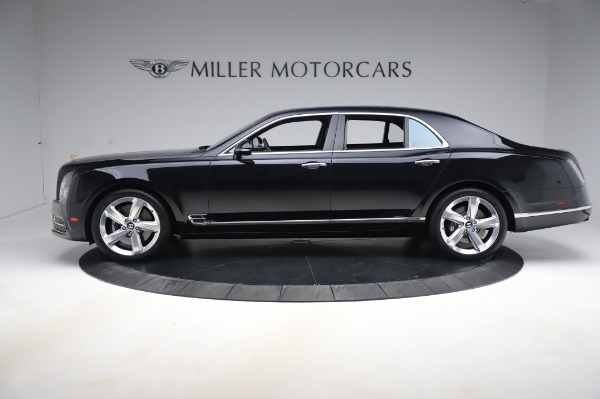Used 2018 Bentley Mulsanne Speed for sale $239,900 at Bugatti of Greenwich in Greenwich CT 06830 3