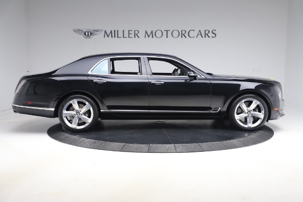 Used 2018 Bentley Mulsanne Speed for sale $239,900 at Bugatti of Greenwich in Greenwich CT 06830 9