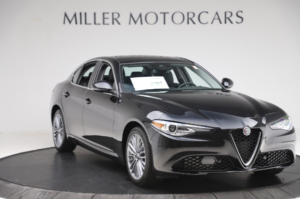 New 2020 Alfa Romeo Giulia Ti Lusso Q4 for sale $46,195 at Bugatti of Greenwich in Greenwich CT 06830 11