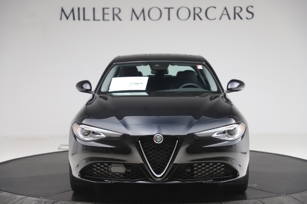 New 2020 Alfa Romeo Giulia Ti Lusso Q4 for sale $46,195 at Bugatti of Greenwich in Greenwich CT 06830 12