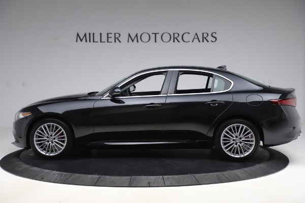 New 2020 Alfa Romeo Giulia Ti Lusso Q4 for sale $46,195 at Bugatti of Greenwich in Greenwich CT 06830 3