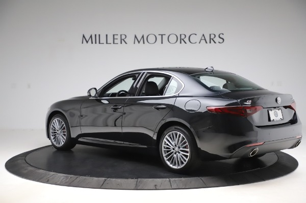 New 2020 Alfa Romeo Giulia Ti Lusso Q4 for sale $46,195 at Bugatti of Greenwich in Greenwich CT 06830 4