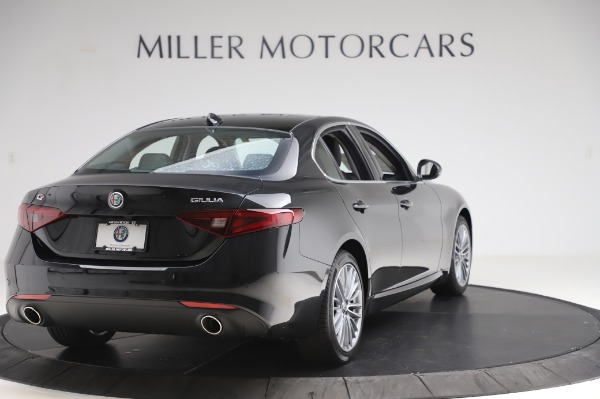 New 2020 Alfa Romeo Giulia Ti Lusso Q4 for sale $46,195 at Bugatti of Greenwich in Greenwich CT 06830 7
