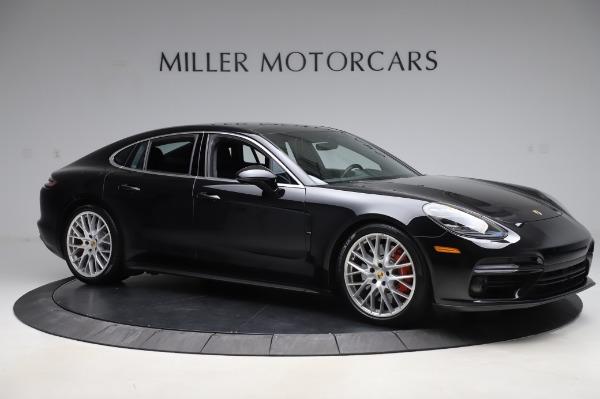 Used 2017 Porsche Panamera Turbo for sale $95,900 at Bugatti of Greenwich in Greenwich CT 06830 10