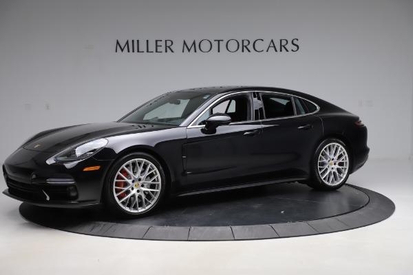 Used 2017 Porsche Panamera Turbo for sale $95,900 at Bugatti of Greenwich in Greenwich CT 06830 2
