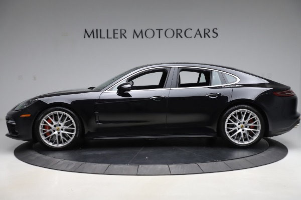 Used 2017 Porsche Panamera Turbo for sale $95,900 at Bugatti of Greenwich in Greenwich CT 06830 3