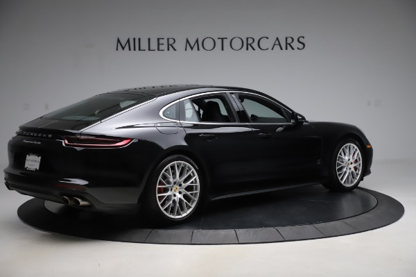 Used 2017 Porsche Panamera Turbo for sale $95,900 at Bugatti of Greenwich in Greenwich CT 06830 8