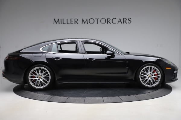 Used 2017 Porsche Panamera Turbo for sale $95,900 at Bugatti of Greenwich in Greenwich CT 06830 9