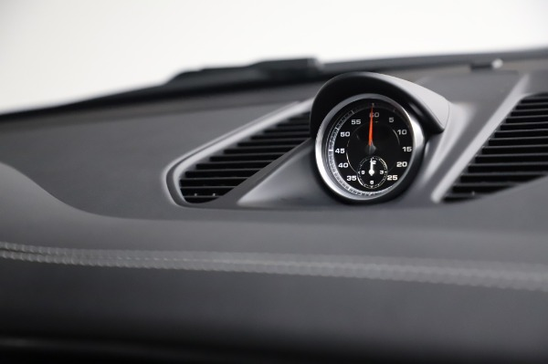 Used 2018 Porsche 911 Carrera GTS for sale Call for price at Bugatti of Greenwich in Greenwich CT 06830 25