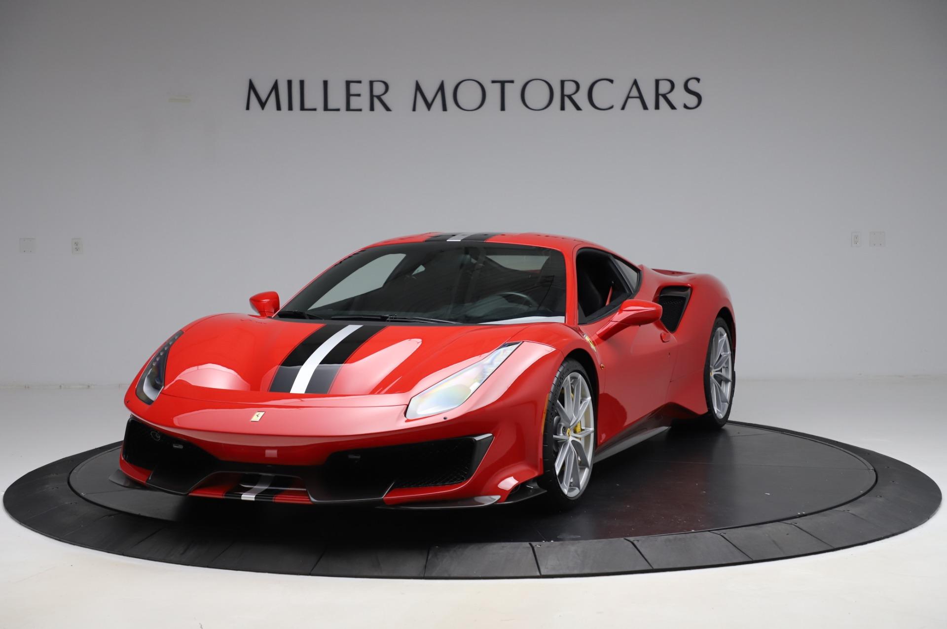 Used 2019 Ferrari 488 Pista for sale $447,900 at Bugatti of Greenwich in Greenwich CT 06830 1