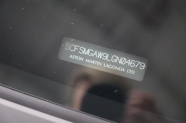 New 2020 Aston Martin Vantage for sale $181,781 at Bugatti of Greenwich in Greenwich CT 06830 22