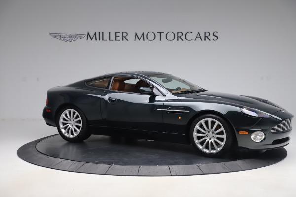 Used 2003 Aston Martin V12 Vanquish Coupe for sale $79,900 at Bugatti of Greenwich in Greenwich CT 06830 10