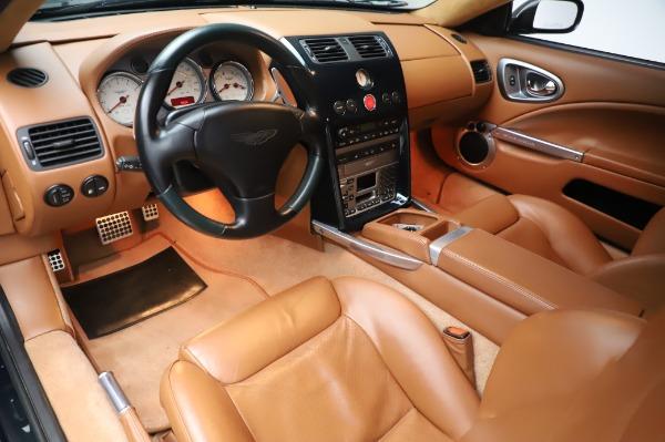 Used 2003 Aston Martin V12 Vanquish Coupe for sale $79,900 at Bugatti of Greenwich in Greenwich CT 06830 13