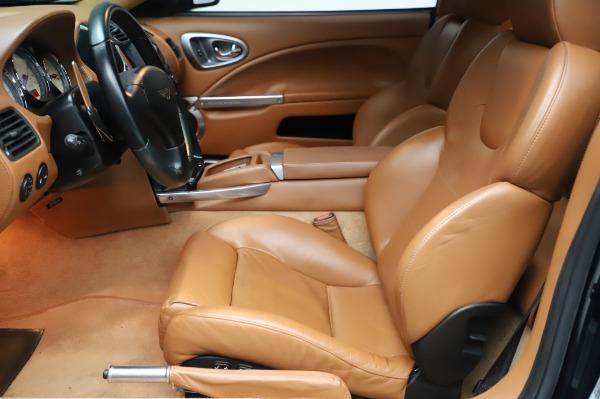 Used 2003 Aston Martin V12 Vanquish Coupe for sale $79,900 at Bugatti of Greenwich in Greenwich CT 06830 14