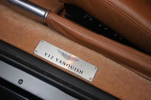 Used 2003 Aston Martin V12 Vanquish Coupe for sale $79,900 at Bugatti of Greenwich in Greenwich CT 06830 16