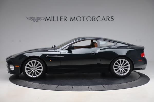 Used 2003 Aston Martin V12 Vanquish Coupe for sale $79,900 at Bugatti of Greenwich in Greenwich CT 06830 2