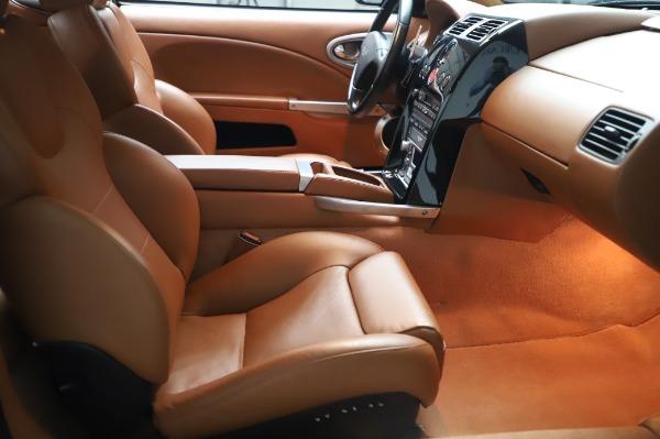 Used 2003 Aston Martin V12 Vanquish Coupe for sale $79,900 at Bugatti of Greenwich in Greenwich CT 06830 20