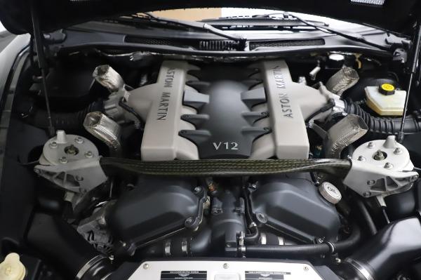 Used 2003 Aston Martin V12 Vanquish Coupe for sale $79,900 at Bugatti of Greenwich in Greenwich CT 06830 22