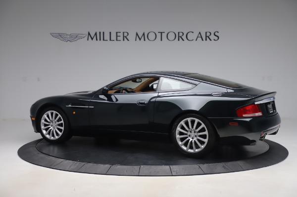 Used 2003 Aston Martin V12 Vanquish Coupe for sale $79,900 at Bugatti of Greenwich in Greenwich CT 06830 3