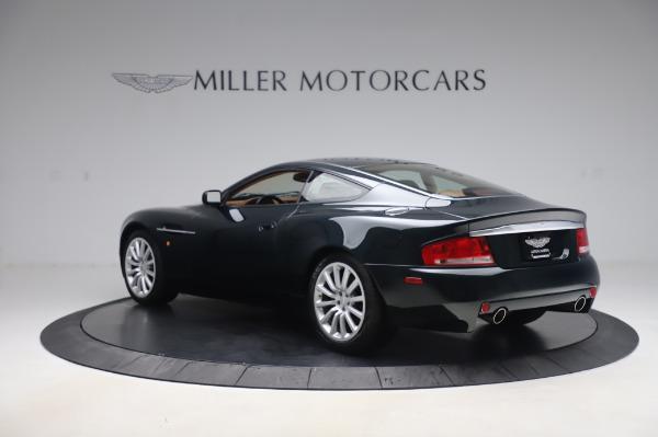 Used 2003 Aston Martin V12 Vanquish Coupe for sale $79,900 at Bugatti of Greenwich in Greenwich CT 06830 4