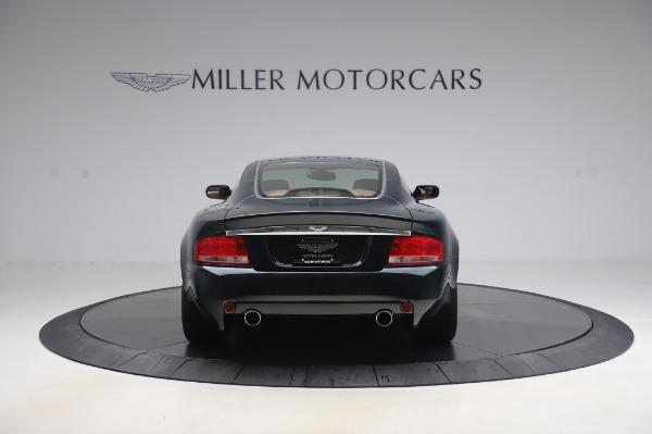 Used 2003 Aston Martin V12 Vanquish Coupe for sale $79,900 at Bugatti of Greenwich in Greenwich CT 06830 5