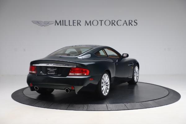 Used 2003 Aston Martin V12 Vanquish Coupe for sale $79,900 at Bugatti of Greenwich in Greenwich CT 06830 7