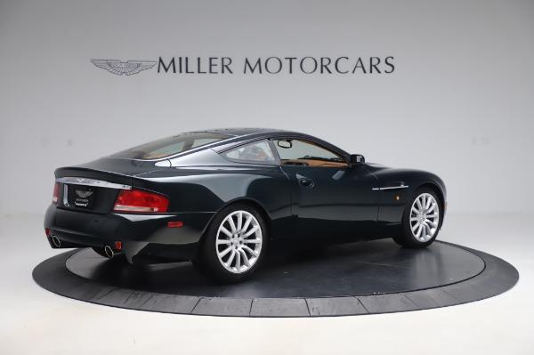 Used 2003 Aston Martin V12 Vanquish Coupe for sale $79,900 at Bugatti of Greenwich in Greenwich CT 06830 8