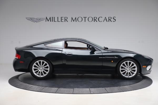Used 2003 Aston Martin V12 Vanquish Coupe for sale $79,900 at Bugatti of Greenwich in Greenwich CT 06830 9