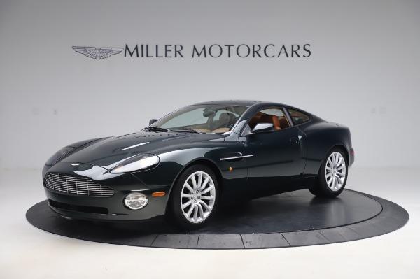 Used 2003 Aston Martin V12 Vanquish Coupe for sale $79,900 at Bugatti of Greenwich in Greenwich CT 06830 1