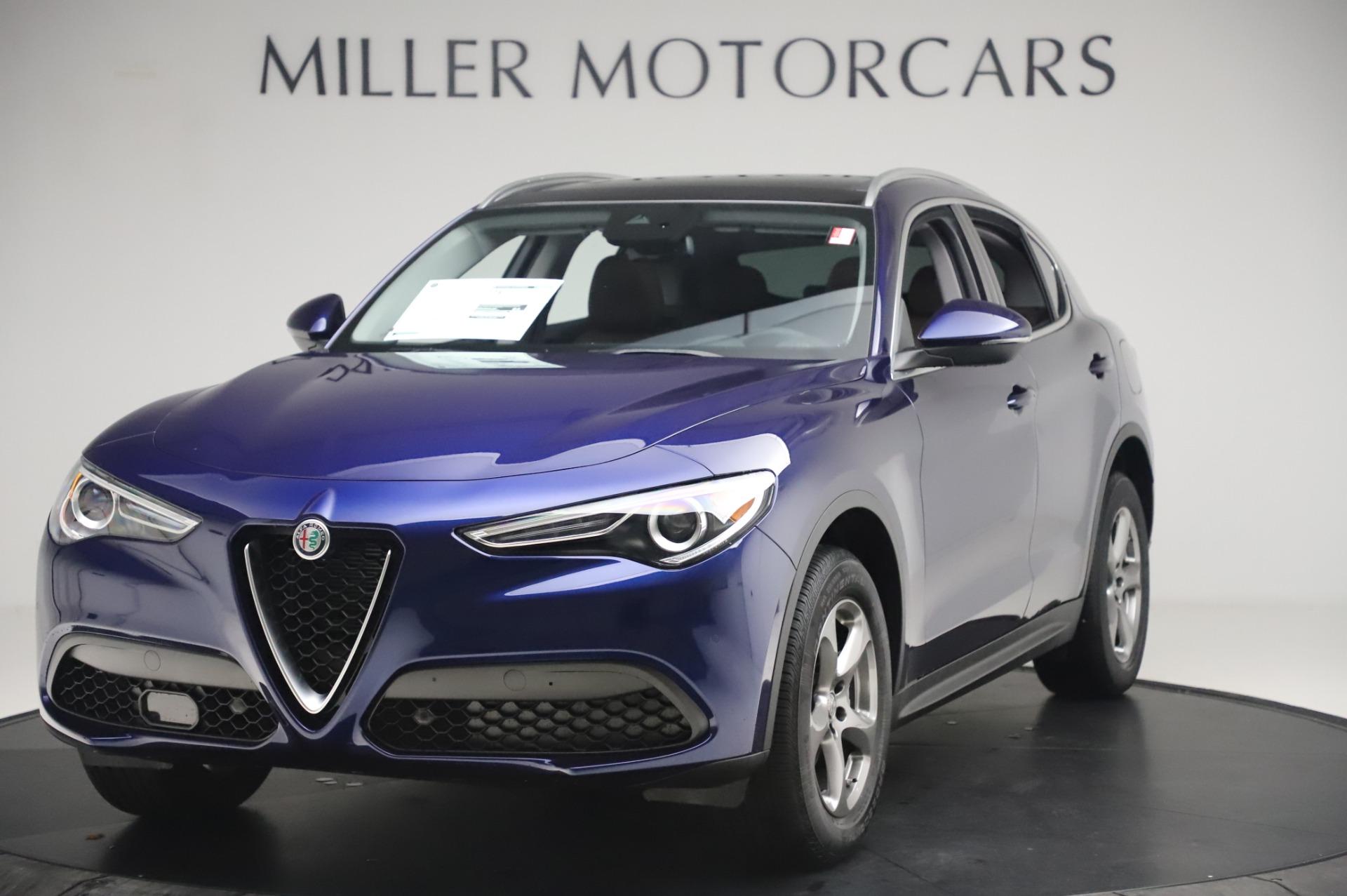 New 2020 Alfa Romeo Stelvio Q4 for sale $49,795 at Bugatti of Greenwich in Greenwich CT 06830 1
