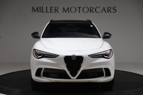New 2020 Alfa Romeo Stelvio Quadrifoglio for sale $90,945 at Bugatti of Greenwich in Greenwich CT 06830 12