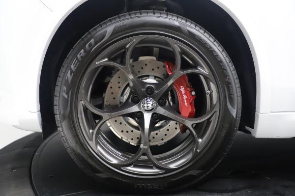 New 2020 Alfa Romeo Stelvio Quadrifoglio for sale $90,945 at Bugatti of Greenwich in Greenwich CT 06830 14