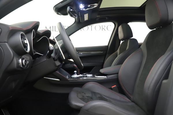 New 2020 Alfa Romeo Stelvio Quadrifoglio for sale $90,945 at Bugatti of Greenwich in Greenwich CT 06830 21