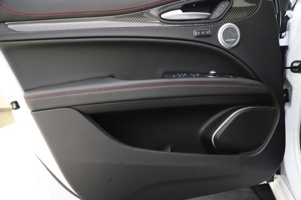 New 2020 Alfa Romeo Stelvio Quadrifoglio for sale $90,945 at Bugatti of Greenwich in Greenwich CT 06830 23