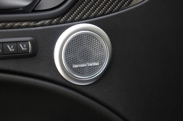 New 2020 Alfa Romeo Stelvio Quadrifoglio for sale $90,945 at Bugatti of Greenwich in Greenwich CT 06830 24
