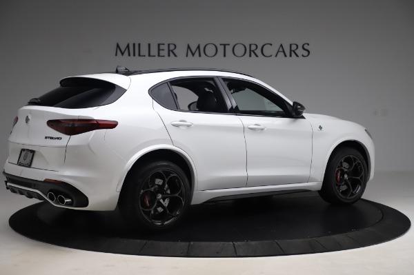 New 2020 Alfa Romeo Stelvio Quadrifoglio for sale $90,945 at Bugatti of Greenwich in Greenwich CT 06830 8