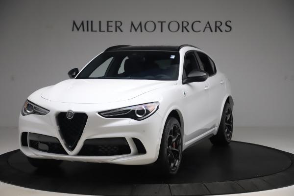 New 2020 Alfa Romeo Stelvio Quadrifoglio for sale $90,945 at Bugatti of Greenwich in Greenwich CT 06830 1